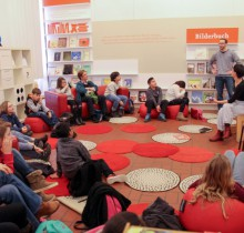 Trickfilm Workshop im Kinderbuchhaus Hamburg