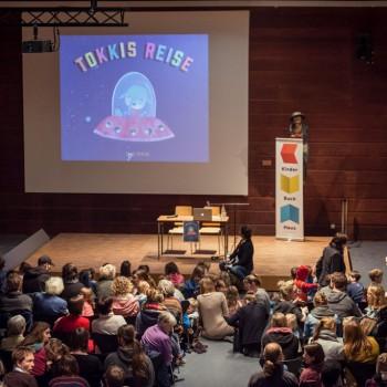 Tokkis Reise - Release im Hamburger Kinderbuchhaus, Foto: Lena Siebels