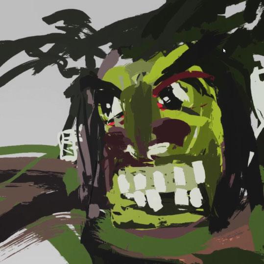 Malerei in VR